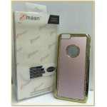 "EMAAN - Luxury Diamond Crystal Rhinestone Bling Hard Case Cover For Apple iPhone 6 4.7"" - PINK COLOR"