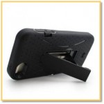 iPhone 5 Case, Hybrid Heavy Duty Kickstand Case